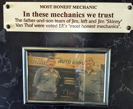 Van Thofs Auto & Radiator | Voted Most Honest Mechanic | 585-586-3180 | 929 Linden Ave, East Rochester NY 14445