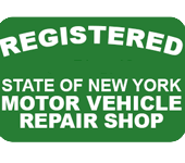 Registered State of New York Motor Vehicle Repair Shop